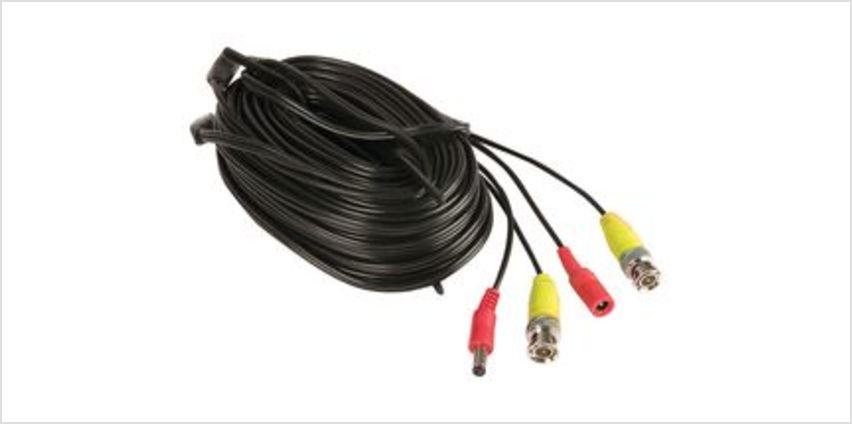 Smart Home CCTV BNC Cable - 18 m from Currys