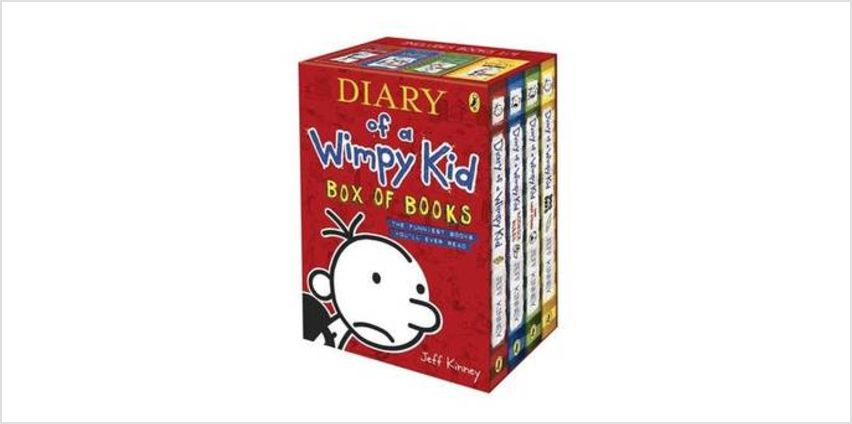 Diary of a Wimpy Kid Box of Books - 4 Books from The Book People