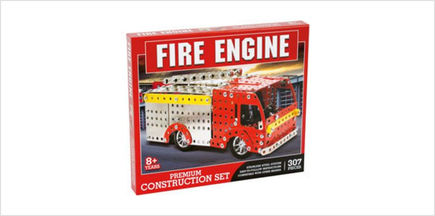 Fire Engine Construction Set from The Book People