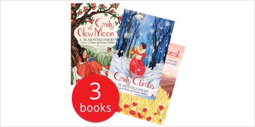 Emily of New Moon Collection - 3 Books from The Book People