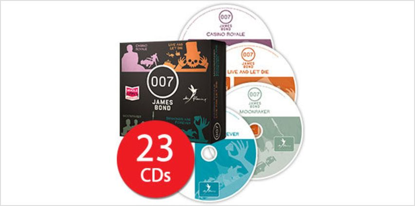 James Bond 007 Audio Collection - 23 CDs from The Book People