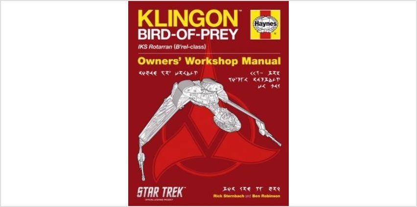 Klingon Bird of Prey - Haynes Owners Workshop Manual from The Book People