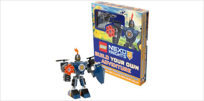 Lego Nexo Knights: Build Your Own Adventure from The Book People