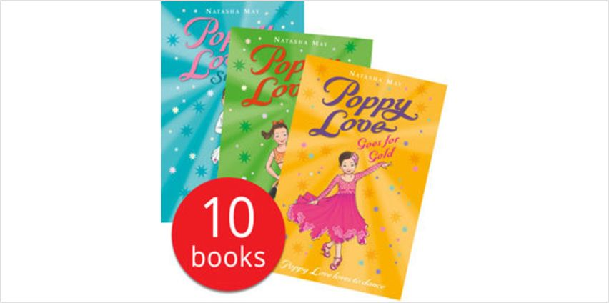 Poppy Love Collection - 10 Books from The Book People