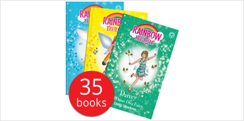 Rainbow Magic: The Magical Talent Fairy Collection - 35 Books from The Book People