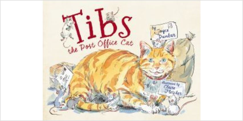 Tibs, The Post Office Cat from The Book People