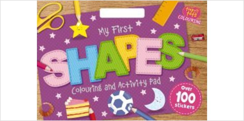 Tiny Tots Colouring: Shapes from The Book People