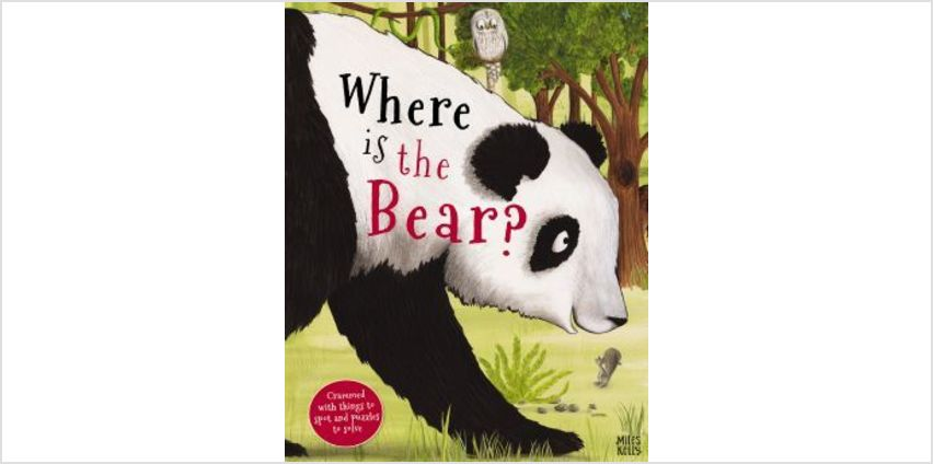 Giant Adventures: Where is the Bear? from The Book People