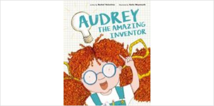 Audrey the Amazing Inventor from The Book People
