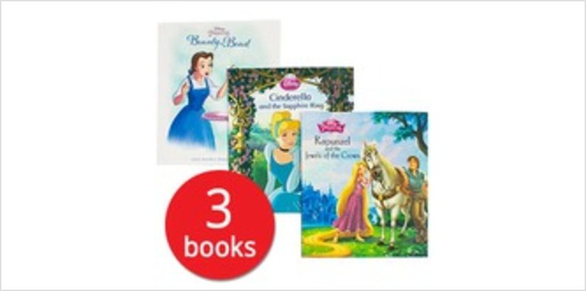 Disney Princess Collection - 3 Books from The Book People