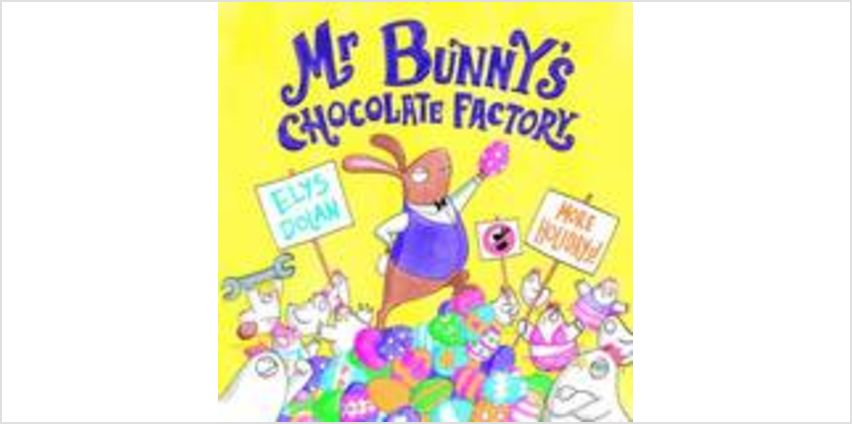 Mr Bunny's Chocolate Factory from The Book People