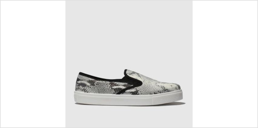 Schuh White & Black Awesome Womens Flats from Schuh