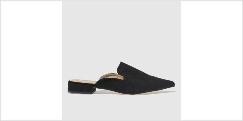 Schuh Black Complex Womens Flats from Schuh