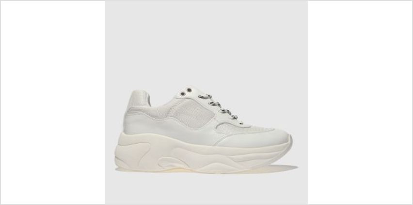 Schuh White On My Mind Womens Trainers from Schuh