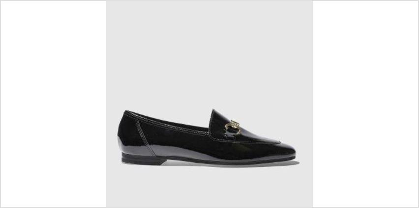 Schuh Black Dandy Womens Flats from Schuh