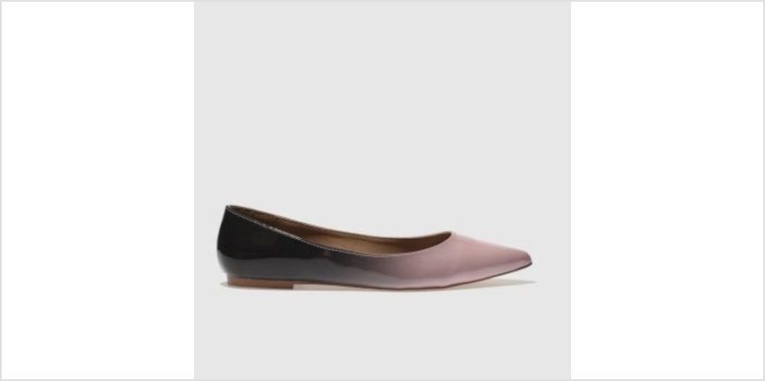 Schuh Black & pink Elusive Womens Flats from Schuh
