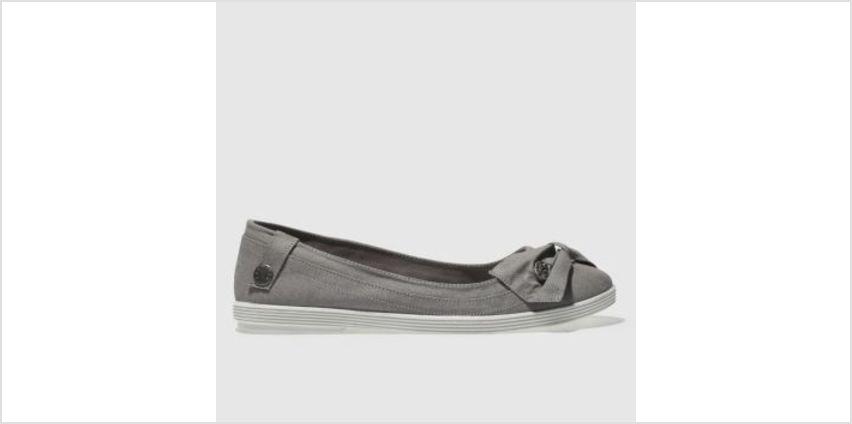 Blowfish Grey Gimlet Womens Flats from Schuh
