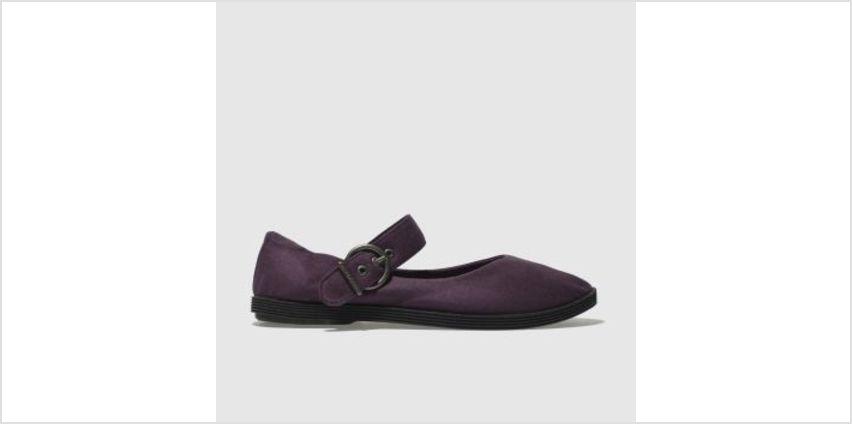 Blowfish Dark Purple Getaway Womens Flats from Schuh
