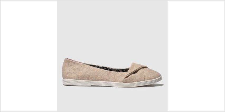Blowfish Pale Pink Tizzy Womens Flats from Schuh