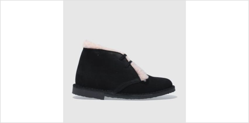 Schuh Black & pink Nifty Womens Boots from Schuh