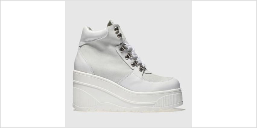 Schuh White Fierce Womens Boots from Schuh