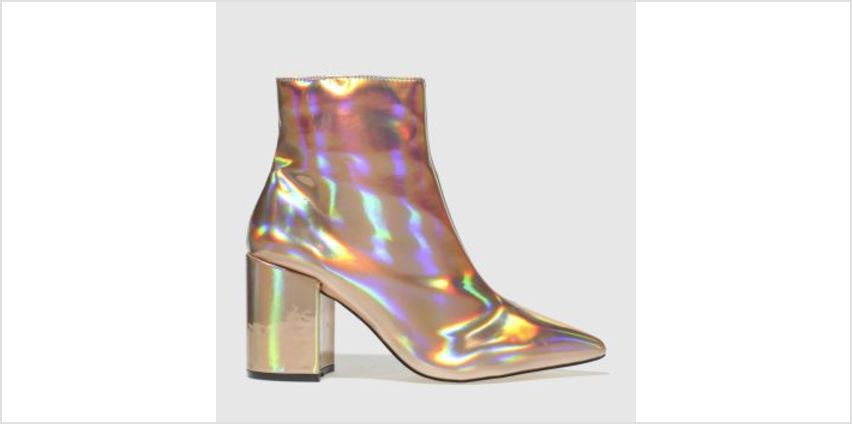 Schuh Gold On Point Womens Boots from Schuh