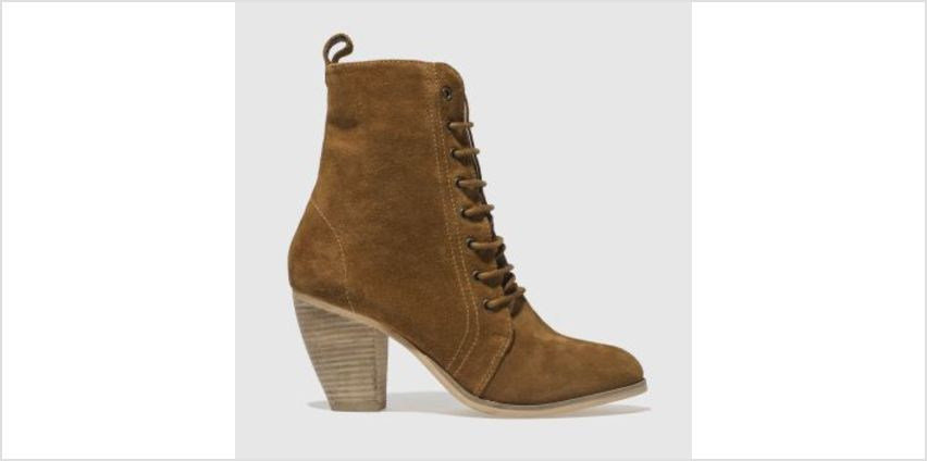 Schuh Tan Prim N Proper Womens Boots from Schuh
