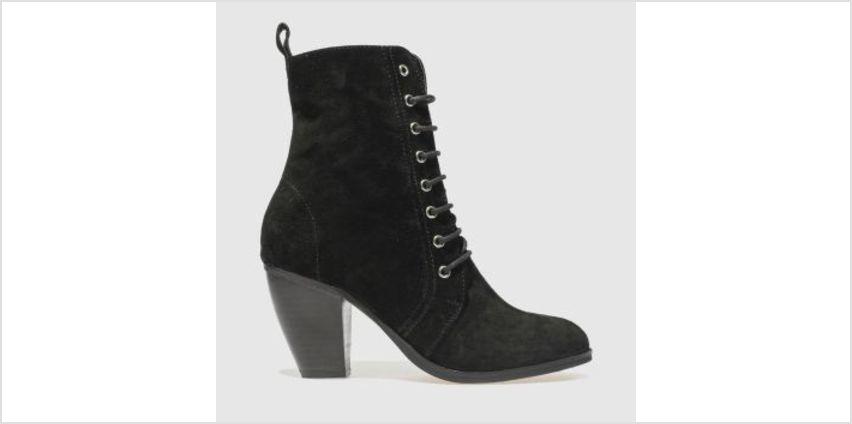 Schuh Black Prim N Proper Womens Boots from Schuh