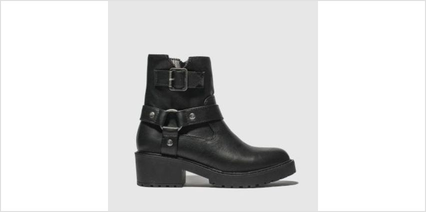 Rocket Dog Black Pluto Womens Boots from Schuh