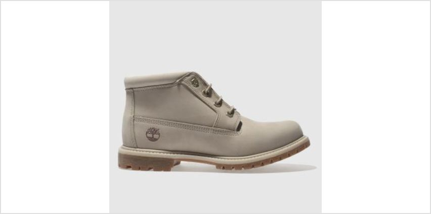 Timberland Beige Nellie Chukka Double Womens Boots from Schuh