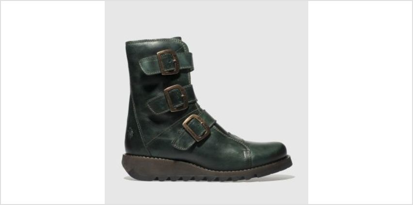 Fly London Turquoise Scop Womens Boots from Schuh