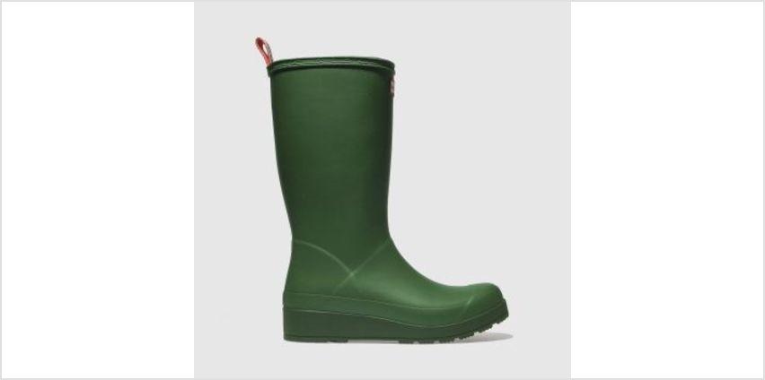 Hunter Green Original Play Tall Boot Womens Boots from Schuh