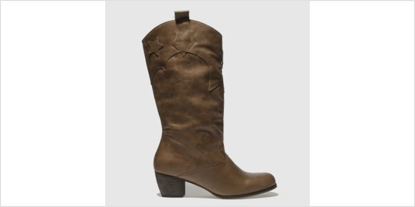 Red Or Dead Tan Arkansas Womens Boots from Schuh
