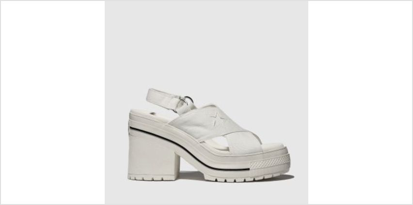 Converse White One Star Heel Womens Sandals from Schuh