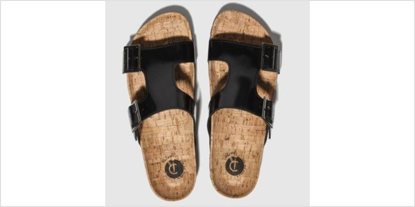 Red Or Dead Black Charlie Womens Sandals from Schuh
