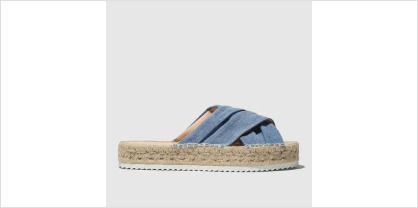 Schuh Blue Cuba Womens Sandals from Schuh