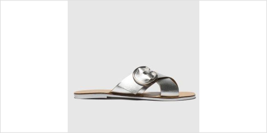 Schuh Silver Hong Kong Womens Sandals from Schuh