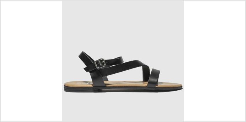 Schuh Black Sicily Womens Sandals from Schuh