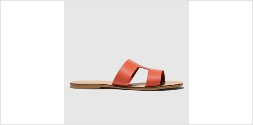 Schuh Peach Mallorca Womens Sandals from Schuh