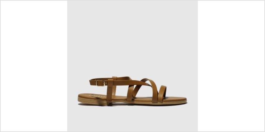 Schuh Tan Vital Womens Sandals from Schuh