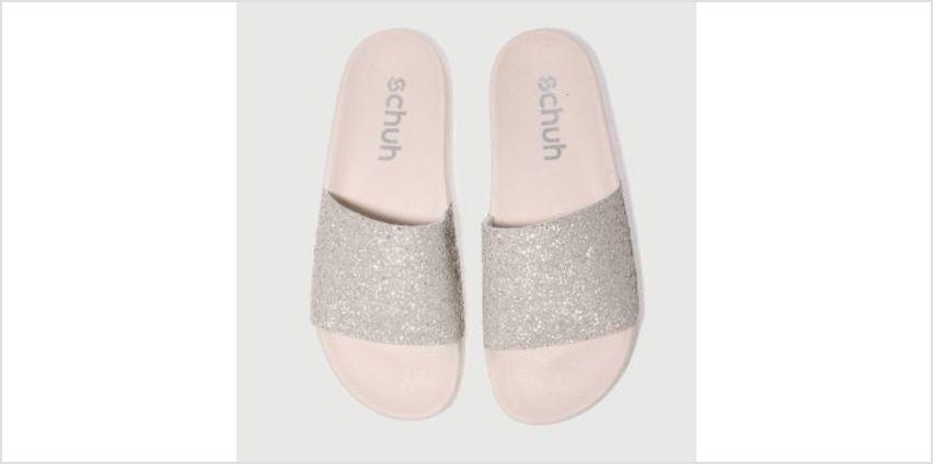 Schuh Nude Pink Proper Boss Womens Sandals from Schuh