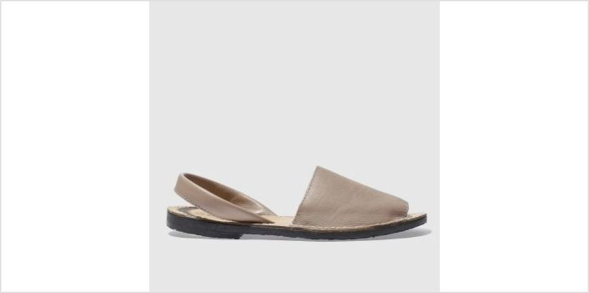 Schuh Natural Barcelona Womens Sandals from Schuh
