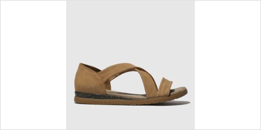 Schuh Tan Hula Hula Womens Sandals from Schuh