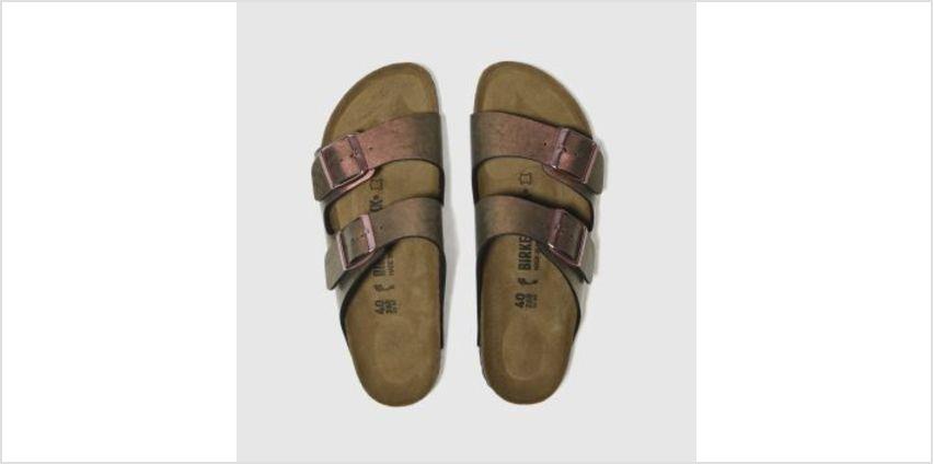 Birkenstock Pink Arizona Graceful Gemm Womens Sandals from Schuh