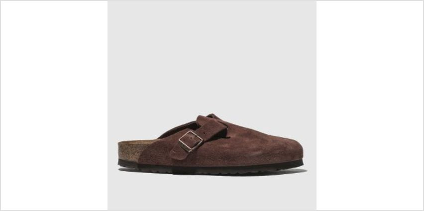 Birkenstock Burgundy Boston Womens Sandals from Schuh