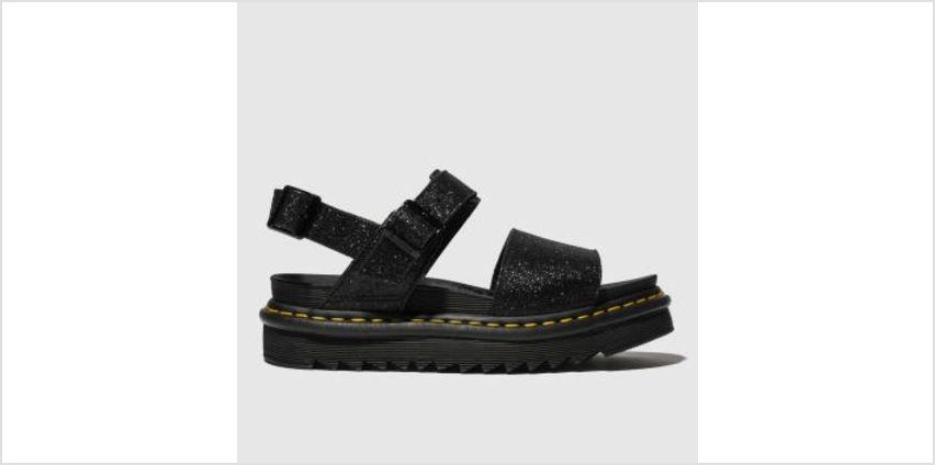 Dr Martens Black Voss Womens Sandals from Schuh