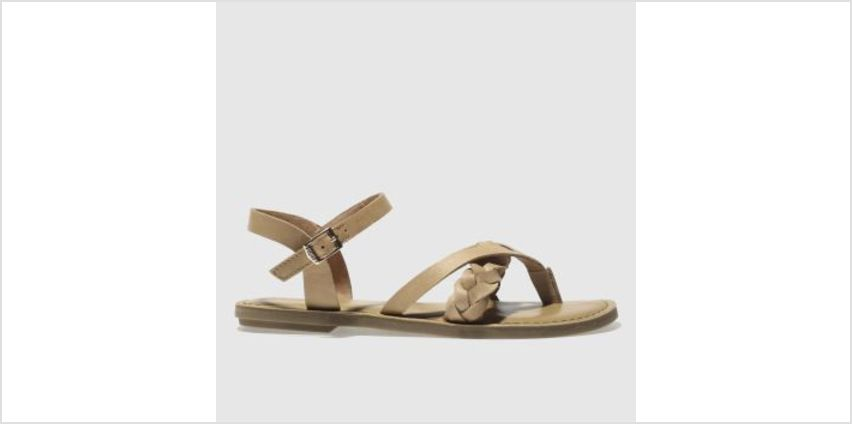 Toms Tan Lexie Womens Sandals from Schuh