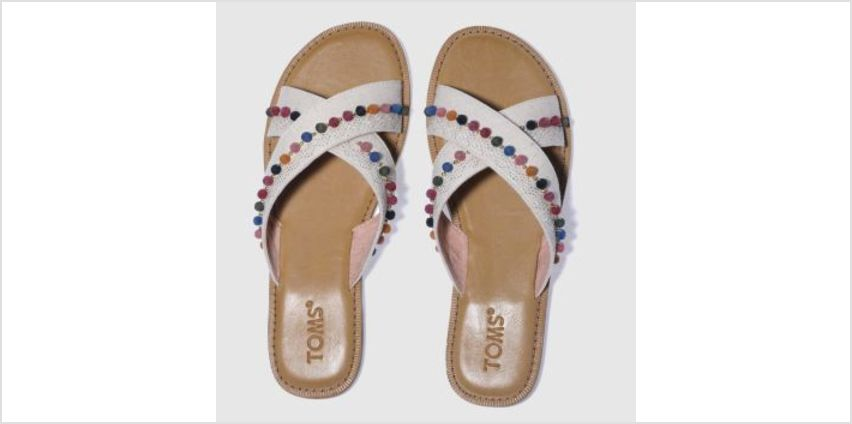 Toms Natural Viv Womens Sandals from Schuh