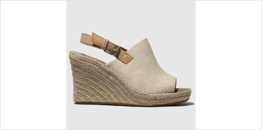 Toms Natural Monica Womens Sandals from Schuh