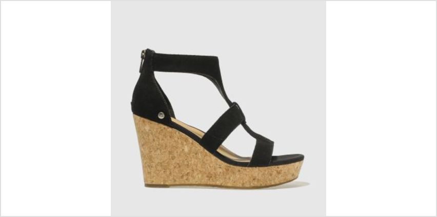 Ugg Black Whitney Womens Sandals from Schuh